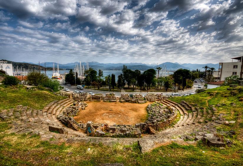 fethiye antique telmessos theater