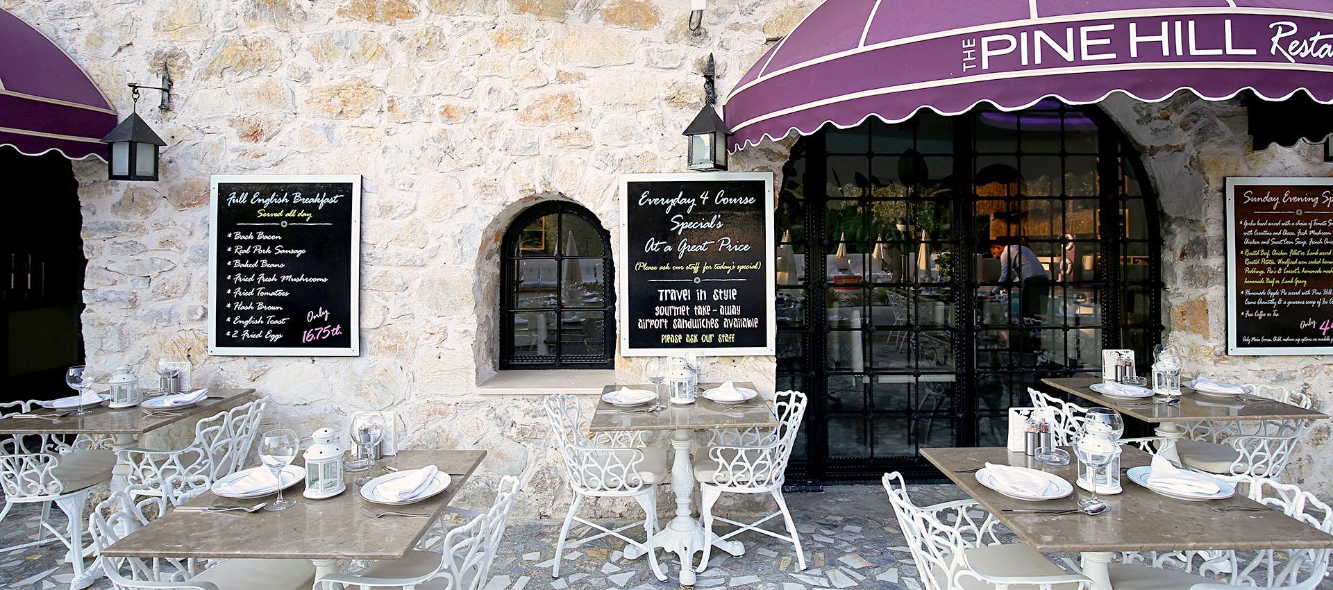the pine hill restaurant Hisarönü Fethiye Turkey