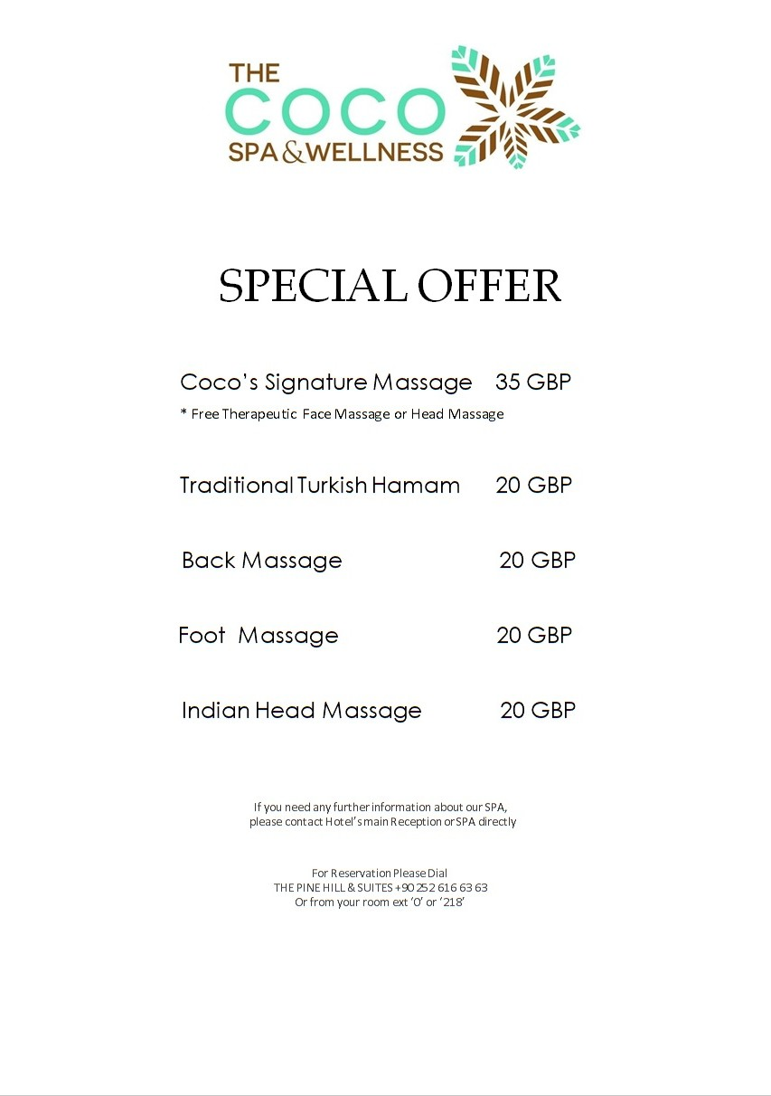 spa special offer